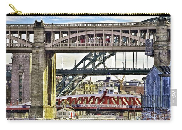 Newcastle Upon Tyne Bridges Carry-all Pouch