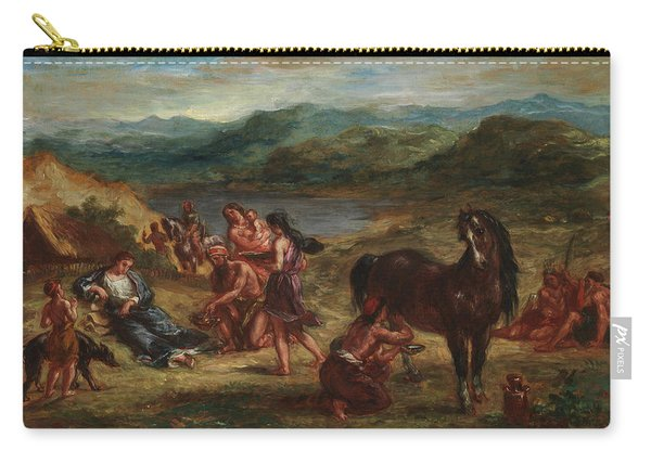Ovid Among The Scythians Carry-all Pouch