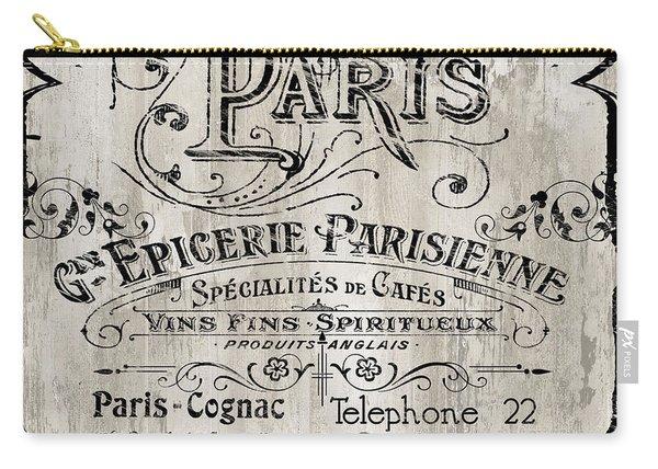 Paris Bistro  Carry-all Pouch