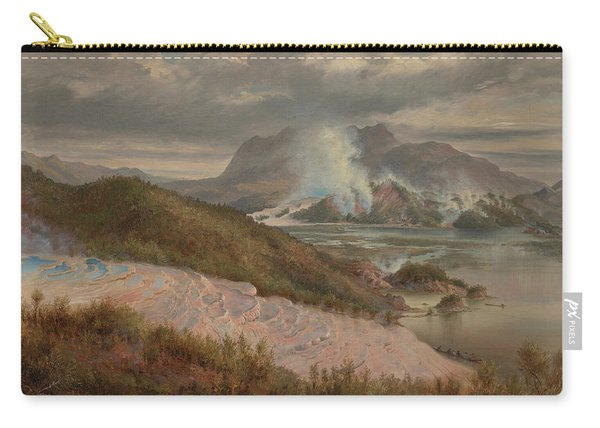 Pink Terraces Carry-all Pouch
