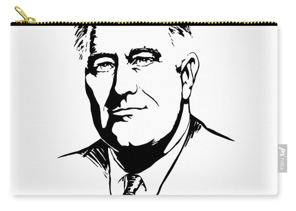 President Franklin Roosevelt Graphic Carry-all Pouch