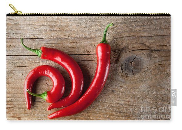 Red Chili Pepper Carry-all Pouch