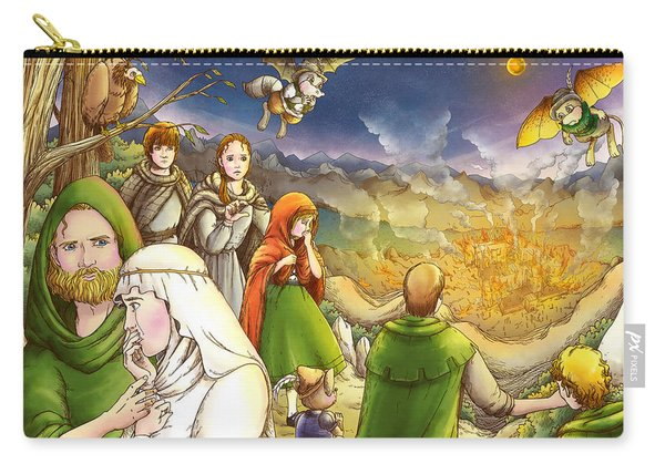 Robin Hood And Matilda Carry-all Pouch