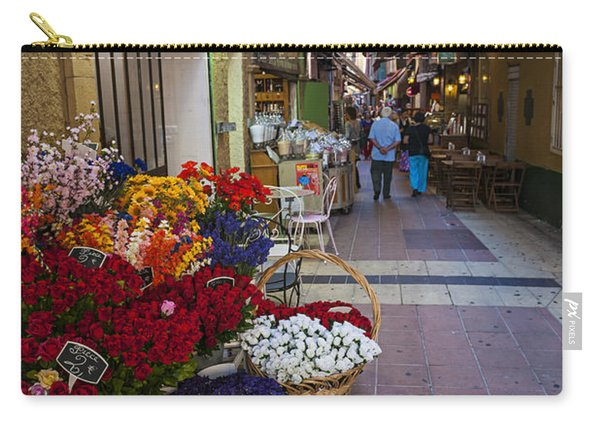 Rue Pairoliere In Nice Carry-all Pouch