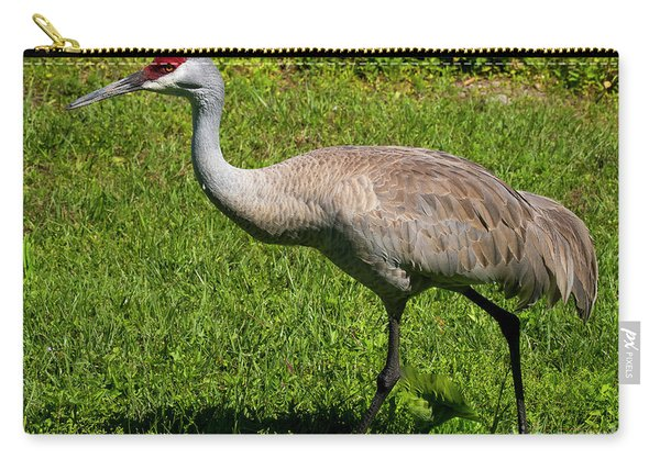 Sand Hill Crane Carry-all Pouch