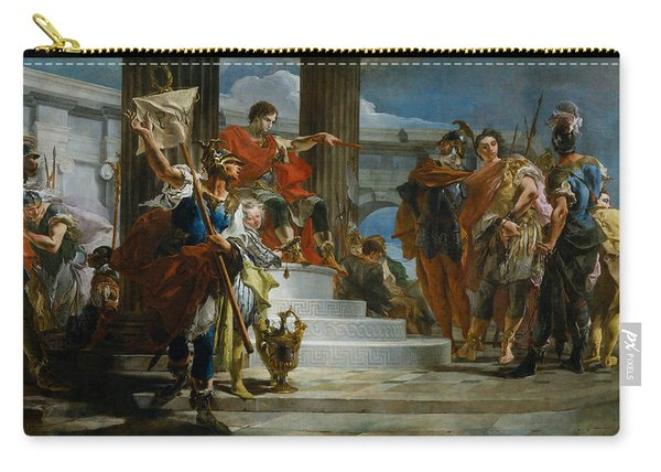 Scipio Africanus Freeing Massiva Carry-all Pouch