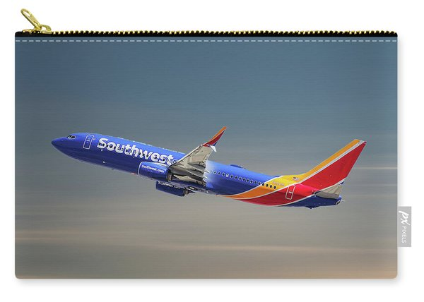 Southwest Airlines Boeing 737-8h4 Carry-all Pouch