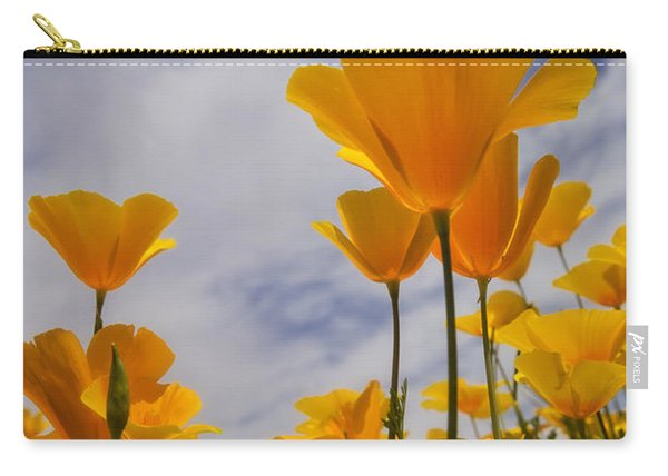 Springtime Poppies  Carry-all Pouch