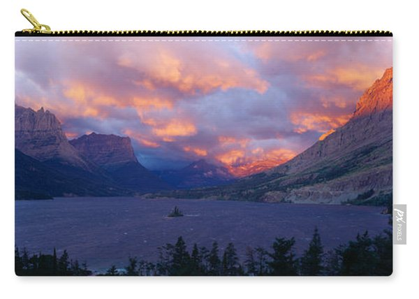 St. Mary Lake, Glacier National Park Carry-all Pouch