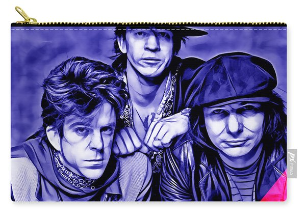 Stevie Ray Vaughan And Double Trouble Collection Carry-all Pouch