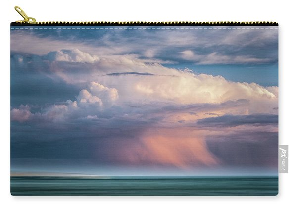 Storm On The Sound Carry-all Pouch