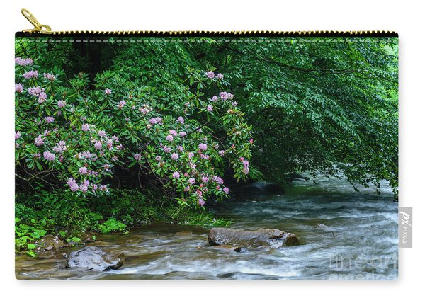 Summer Along Birch River Carry-all Pouch