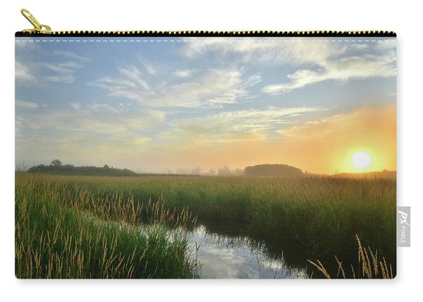 Sunrise At Glacial Park Carry-all Pouch