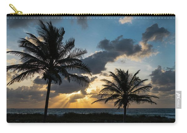 Sunrise Palms Delray Beach Florida Carry-all Pouch