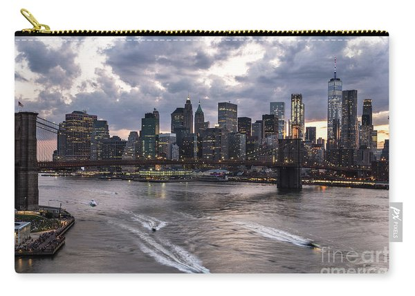 Sunset Over New York City Carry-all Pouch