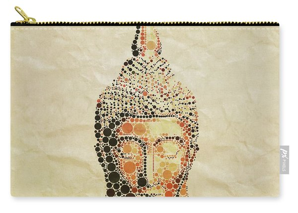 The Buddha, Pop Art By Mary Bassett Carry-all Pouch