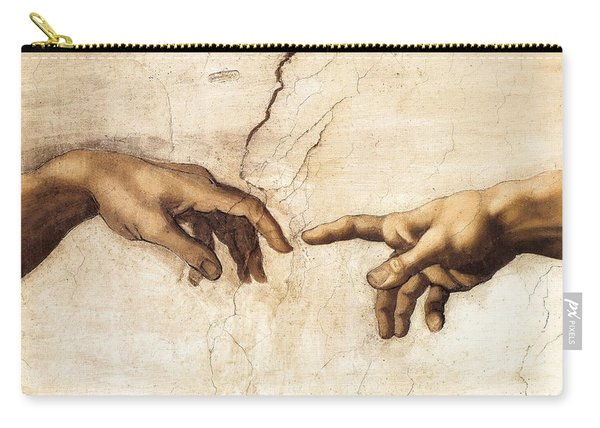 The Creation Of Adam Carry-all Pouch