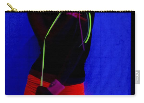 The Effects Of Uv On Reflective Clothing Carry-all Pouch