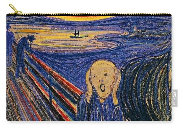 The Scream Ver 1895 Edvard Munch Carry-all Pouch