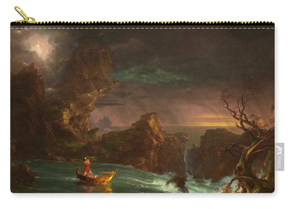 The Voyage Of Life, Manhood Carry-all Pouch