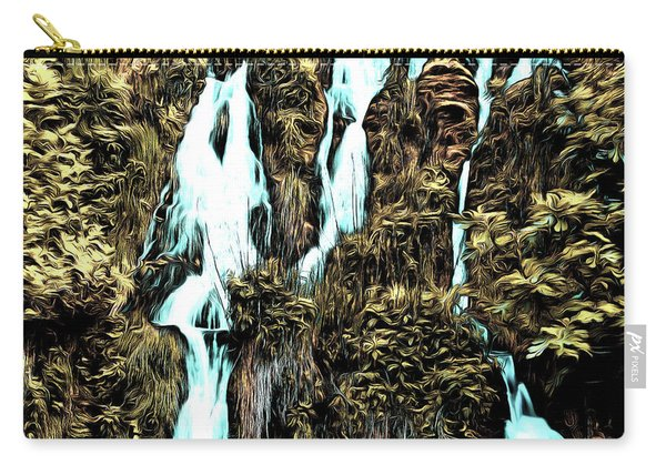 Waterfall Painting Carry-all Pouch