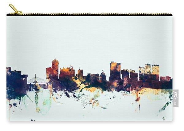 Winnipeg Canada Skyline Carry-all Pouch