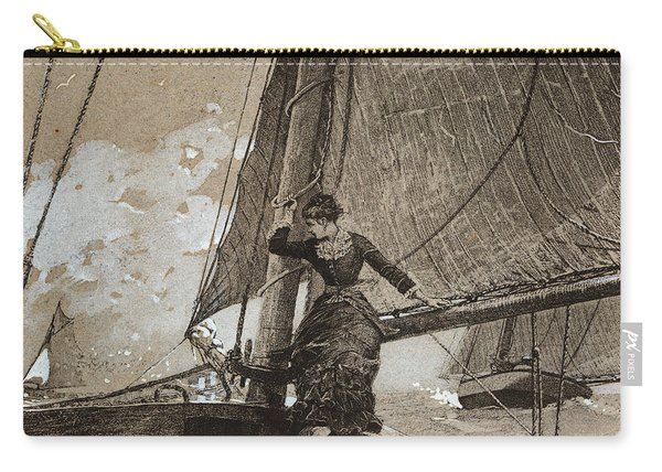 Yachting Girl Carry-all Pouch