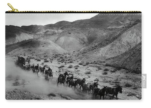 20 Mule Team Borax Hauling - Death Valley C. 1899 Carry-all Pouch