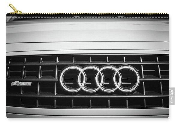 2002 Audi Emblem -0083bw2 Carry-all Pouch