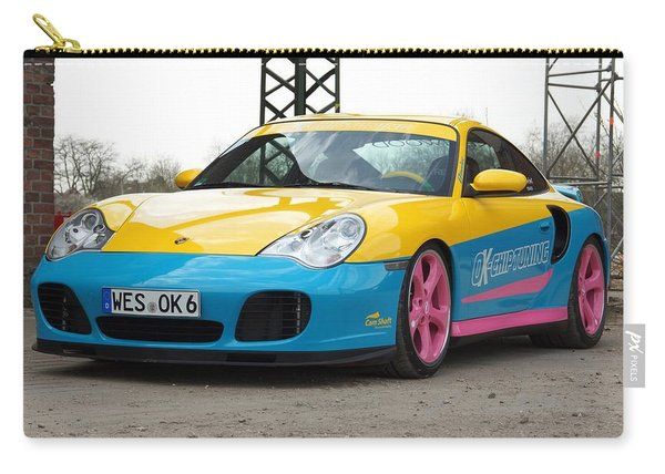 2002 Ok Chiptuning Manta Porsche 996 Turbo  1 Carry-all Pouch