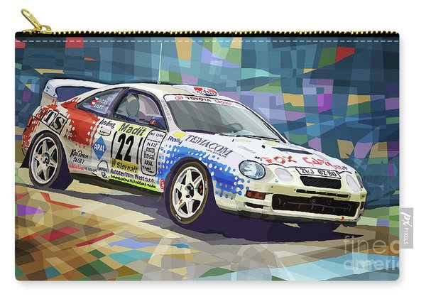 2002 Slovnaft Valasska Rally Toyota Celica Gt Four Liska Jugas  Carry-all Pouch