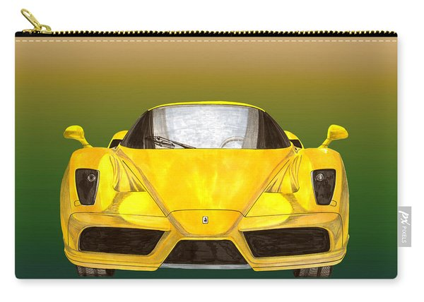 2004 Ferrari Enzo 400 Of 400 Carry-all Pouch