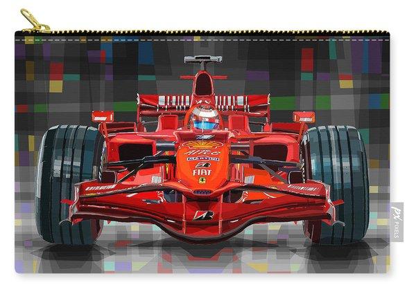 2008 Ferrari F1 Racing Car Kimi Raikkonen Carry-all Pouch