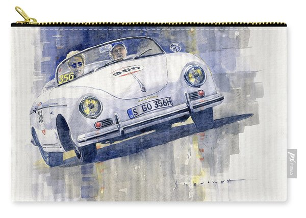 2015 Mille Miglia Porsche 356 1500 Speedster Carry-all Pouch