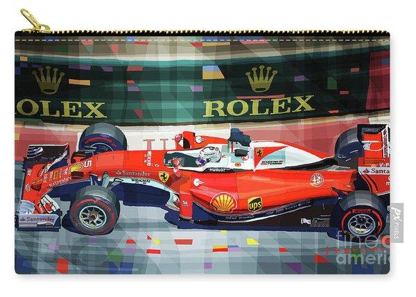 2016 Ferrari Sf16-h Vettel Monaco Gp  Carry-all Pouch