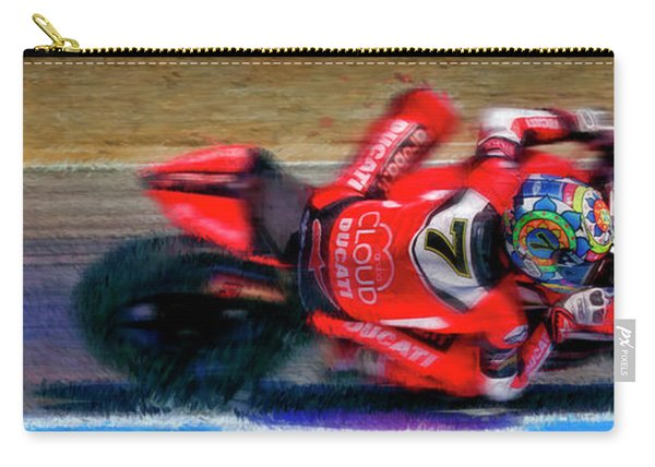 2016 Fim Superbike Chaz Davies Carry-all Pouch