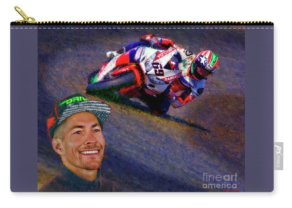 2016 Fim Superbike Nicky Hayden Carry-all Pouch