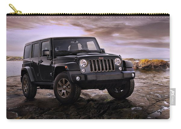 2016 Jeep Wrangler 75th Anniversary Model Carry-all Pouch