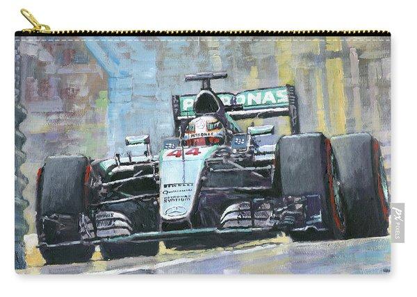2016 Monaco Gp Mercedes Amg Petronas Hamilton  Carry-all Pouch