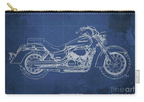 2018 Honda Shadow Aero Abs Blueprint, Blue Blueprint Carry-all Pouch
