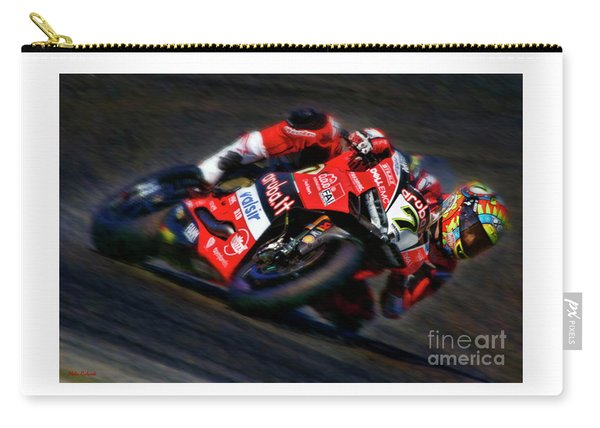 2018 World Superbike Chaz Davies Carry-all Pouch