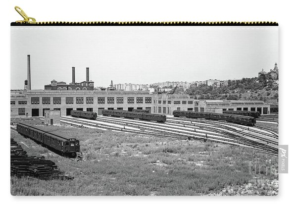 207th Street Railyard Carry-all Pouch