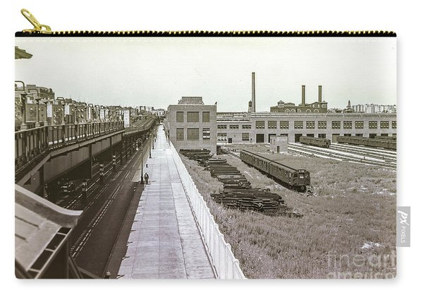 207th Street Subway Yards Carry-all Pouch