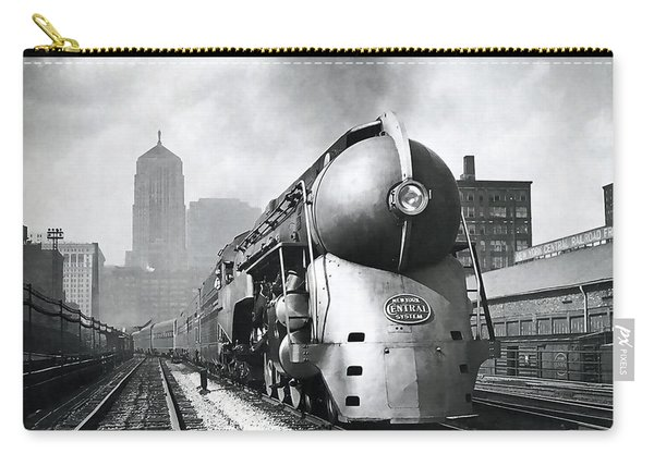 20th Century Limited Streamlined Train  1939 Carry-all Pouch