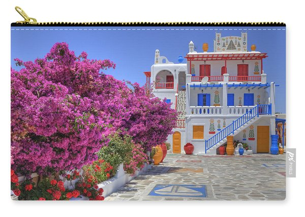 Mykonos Carry-all Pouch
