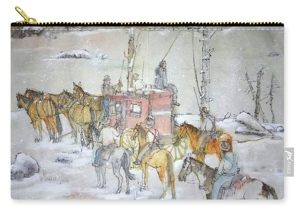 the ole' West my way album Carry-all Pouch
