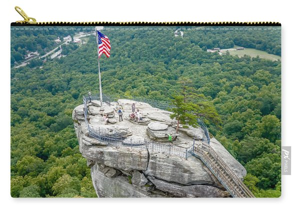 Lake Lure And Chimney Rock Landscapes Carry-all Pouch