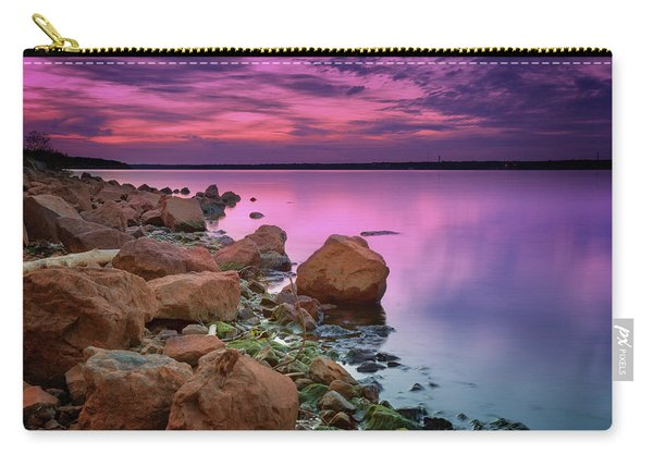 Lake Sunset II Carry-all Pouch