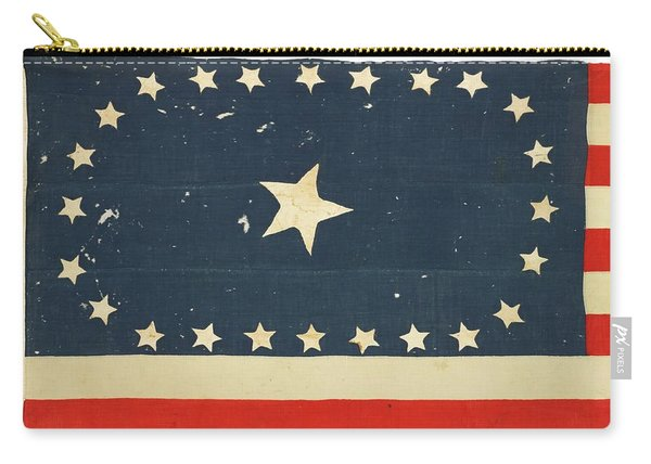 25-star American National Flag Carry-all Pouch