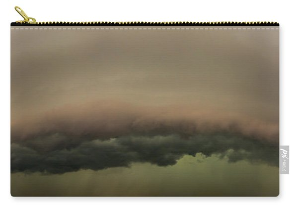 Carry-all Pouch featuring the photograph 3rd Storm Chase Of 2015 by Dale Kaminski